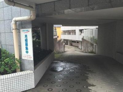 【駐車場】コンフォリア目黒長者丸