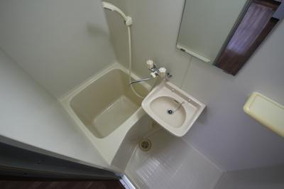 【浴室】ハイツ村上1