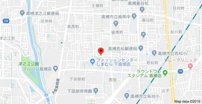 【地図】みそらハイツ (株)Roots
