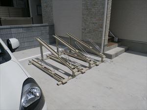 リブリ・ノアの駐輪場