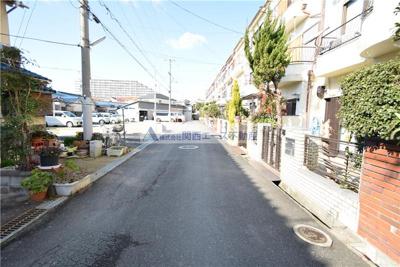 【周辺】西岩田4丁目貸家