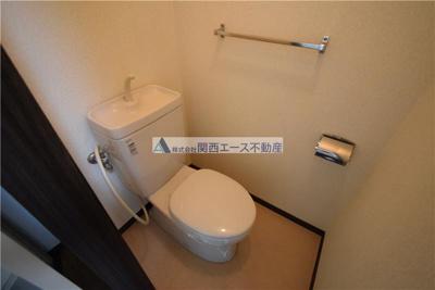 【トイレ】ミツワハイツⅠ