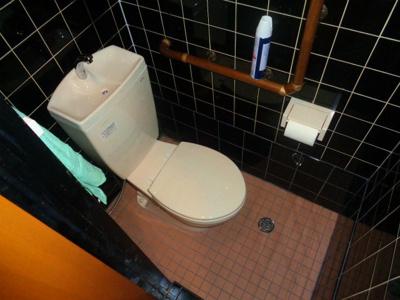 【トイレ】針中野3丁目居抜き店舗