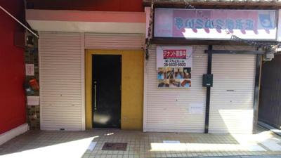 【外観】針中野3丁目居抜き店舗