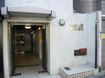 【エントランス】日興パレス広尾プラザ