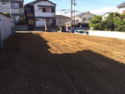 【前面道路含む現地写真】堺市西区北条町 新築戸建