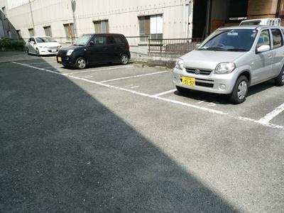 【駐車場】ハッピーコート青山(旧グリーンハウス)