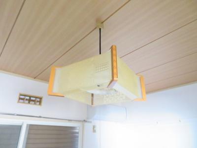 照明器具付き 同タイプの別の部屋の写真です