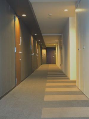 落ち着いた雰囲気の内廊下です♪
