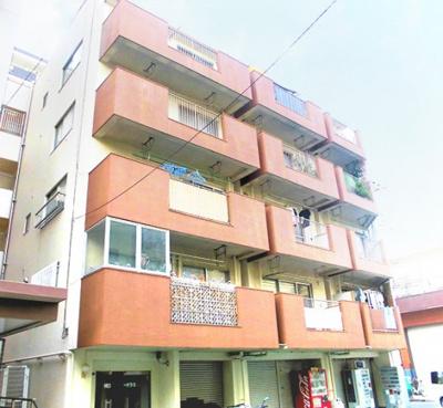 【外観】仲町コーポラス 最 上階 角 部屋 リ ノベーション済