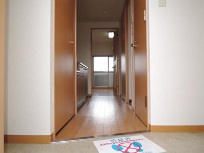 【玄関】ベルドミール末広五番館