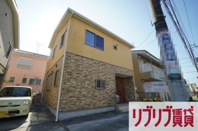 【外観】矢作町184貸家