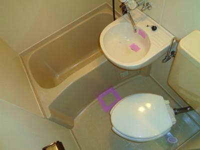 【浴室】キャンパスコート東住吉