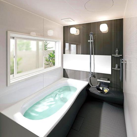 同仕様:浴室施工プラン(プランにより実際とは異なります)パナソニックバスルームFZ。快適空間のためにこだわりぬいたバスルームです♪