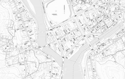 【地図】玉島中央土地