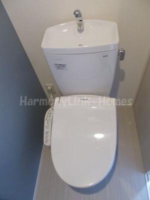 仮称)赤羽西2丁目Aコーポの清潔感のあるトイレです