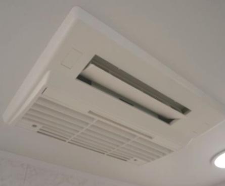 雨の日や夜間の洗濯物の乾燥に便利な浴室暖房乾燥機をご用意!