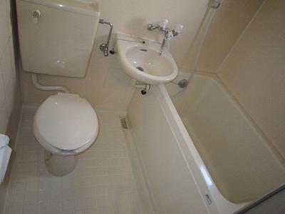 【浴室】ブランネージュ中山手