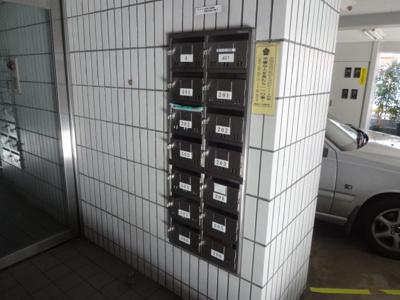 須川ハイツ メールボックス