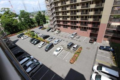 駐車場です 三郷新築ナビで検索