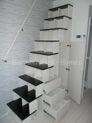 Maison de BVの収納付き階段②(別部屋参照・同一仕様写真)☆