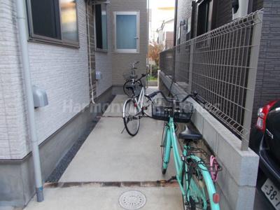 Maison de BVの駐輪スペース☆