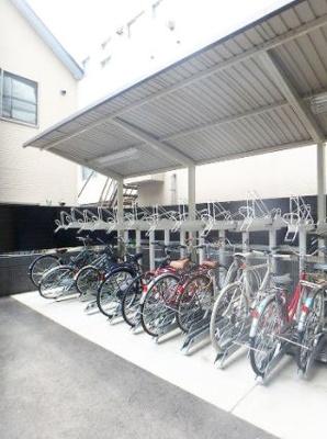 グランドガーラ大森2の駐輪場