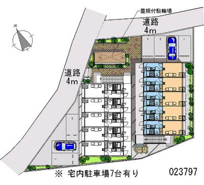 【地図】シャトル香椎駅B
