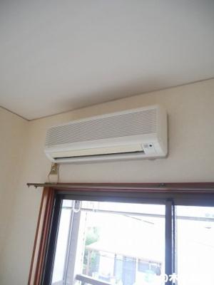 エアコン付いてます