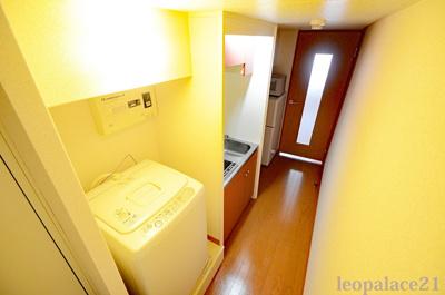 冷蔵庫、電子レンジ付
