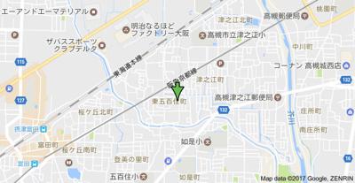 【地図】サンファミール (株)Roots