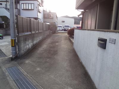 【外観】西隈大石貸家