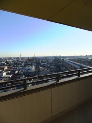 新幹線が良く見えます!