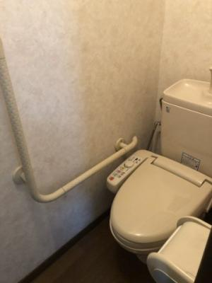 【トイレ】門真市五月田町 中古戸建