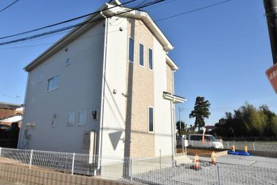 【外観】鴻巣市原馬室 新築一戸建て全1棟