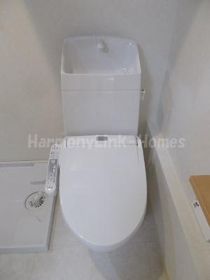 ソリッド東武練馬のシンプルで使いやすいトイレです☆