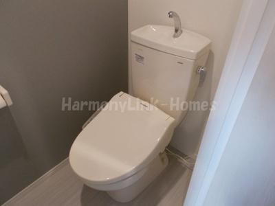 ハーモニーテラス赤羽のシンプルで使いやすいトイレです☆