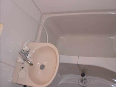 【洗面所】リバーサイド テラス