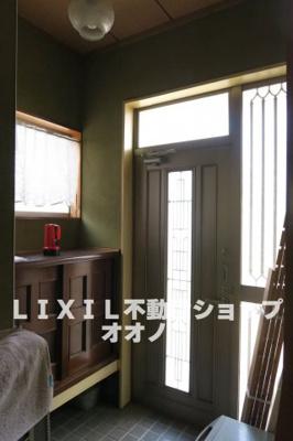 【玄関】加須市久下5丁目 中古一戸建