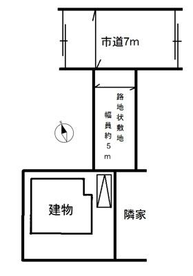 【区画図】加須市久下5丁目 中古一戸建