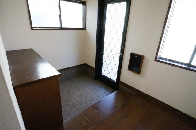 【玄関】関屋大川前貸家