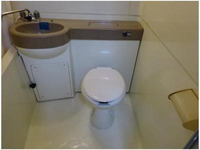 【トイレ】ハーベストハイツ