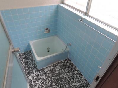 【浴室】東五百住町3丁目貸家【西北】
