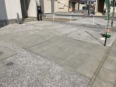 【駐車場】藤岡市中の新築戸建 7号棟