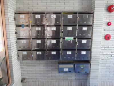 根岸ハイム メールボックス