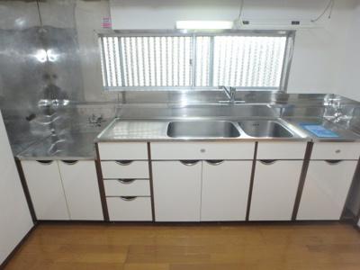 【キッチン】金室アパート