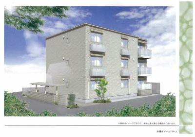 【外観パース】(仮称)堺市西区シャーメゾン鳳東町