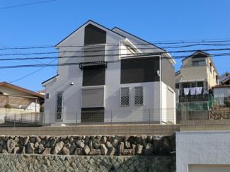 高台にたたずむお洒落な洋館 新築住宅