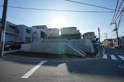 【外観】保土ヶ谷区峰岡町2丁目 全3区画売地【成約】