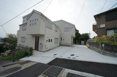 【外観】保土ヶ谷区上星川2丁目 全2棟新築戸建て【成約】